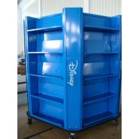 Buy cheap Multip Sides Floor Standing Display Boards , Blue Trade Show Display Stands from wholesalers