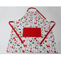 Best Durable Colorful Cute Cooking Aprons Cotton Polyester  Logo Embroidery Print wholesale
