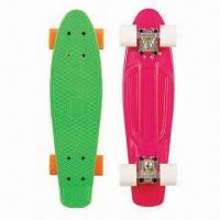 China New Model Skateboard, Made ABS Material, PU Wheel, Aluminum Truck and ABEC-5 Bearing on sale
