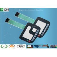 Buy cheap Matte Finish Polyester Overlay Polydome Embossing keys Membrane Switch from wholesalers