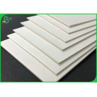 China 0.4mm 0.7mm Virgin Pulp Uncoated Cardboard Plain Absorbent Paper Sheet For Beermat on sale