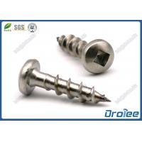 Best SS 304/316/410 Square Drive Pan Head Stainless Steel Wood Decking Screw wholesale