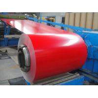 Best A3004 H24 Color Painted Aluminium Coil 2mm Thickness Impact Resistance wholesale
