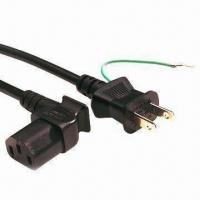 Best Japanese type power cords, (H) VCTF 1.25mm/3G cable type wholesale