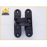 Cheap 180 Degree Zinc Alloy 3D Adjustable Invisible Door Hinges For Folding Door for sale