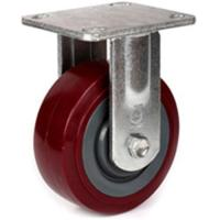 "Best 6"" heavy duty pu wheel caster wholesale"