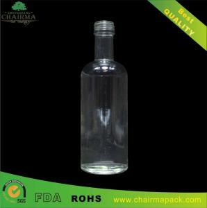 Best 188ml Blown Round Glass Bottle for Vodka wholesale