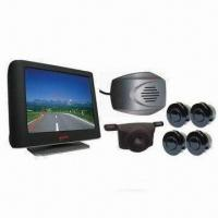 China Car Rear-view Parking Sensor System, Easy-to-install, Suitable for Various Types of Cars on sale