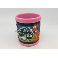 Best 2019 new creative promotional gifts supply and custom with pvc silicone wrap 3d anime mugs wholesale
