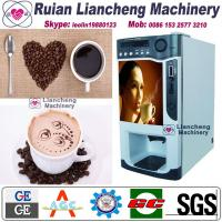 Best instant coffee and tea vending machine Bimetallic raw material 3/1 microcomputer Automatic Drip coin operated instant wholesale