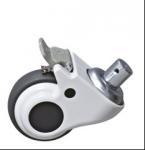 Best Steel Bracket Cart Castor Wheels , Trolley Castors Or Casters Wheels With Brake wholesale