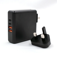 China Laptop Smart Phone 4 AC Plugs Pd Multi Port USB Chargers on sale