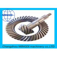Best Forged Helical Ring Pinion Gear With Material 17CrNiMo6 / Crown Wheel Pinion wholesale