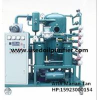 Best ZJA Double-Stage Vacuum Transformer Oil and Insulation Oil Purification Plant wholesale