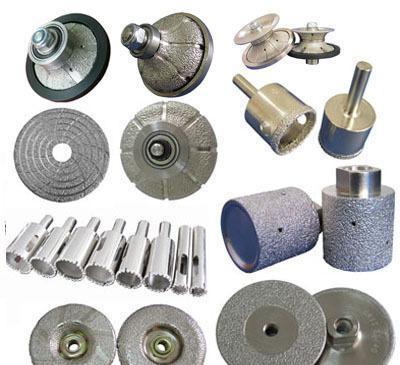 Cheap Vacuum brazed diamond tools for sale