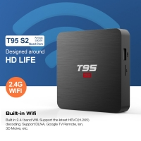 China Full HD Ethernet WiFi 2.4GHz Android Set Top Box on sale