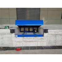 China 13 Ton Loading Dock Ramps Blue Giant Dock Leveler With High Speed Door on sale
