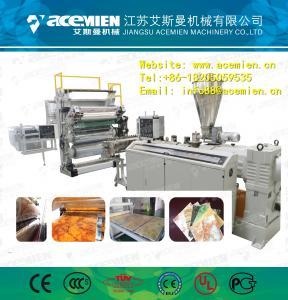 Best PVC composite artificial marble board machine/extruder wholesale