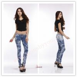 China sexy lady's jeans, snow jeans, stretch jeans, denim  jeans on sale