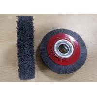 China Long Service Life 6 inch Abrasive bristle Industrial Nylon Wheel Brush for deburring on sale