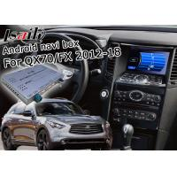 Best Android Navigation Car Video Interface Support Waze / Youtube For Infiniti QX70 / FX wholesale