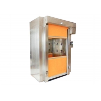 Best Fast Shutter Door Cargo Air Shower Tunnel Cutsomized Size And Color wholesale
