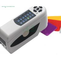 China Uneven Material Tiny Color Difference Meter , Hunter Lab Colorimeter Auto Calibration on sale