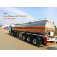 Buy cheap 50,000Liters air suspension 3alxe aluminum tanker trailer for petrol and gasoline transportation from wholesalers