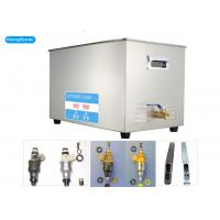 China Digital Model Ultrasonic Cleaning Equipment , 10L Ultrasonic Fuel Injector Cleaning Machine on sale