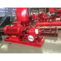 Best Electrical Fire Fighting Pump System / Bronze Impeller End Suction Fire Pump wholesale