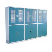 Best Custom Computer Lab Furniture Steel Chemical Cabinet With Grey / Blue wholesale