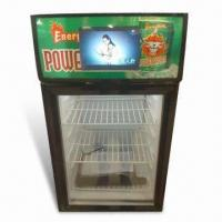 China 42L Mini Showcase with TV, Cooler, Fridge, Counter Top Display Refrigerator on sale