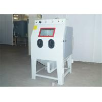 Best Dry Sand Blast Cabinet With Dust Collector / Separator 0.8 - 1.2m³ / Min Air Consumption wholesale