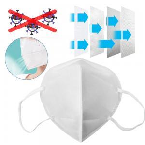 Best Non Woven Fabric N95 Face Mask Prevent Corona Virus Anti COIVD - 19 wholesale