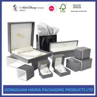 Best Precious Jewelry Decorative Gift Boxes With Lids 4C Custom Printable Foil Stamping Box wholesale