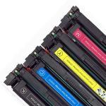 Best 202A CF500A Printer Toner Cartridge Compatible For HP Color Lasejet Pro M254 M280 M281 wholesale