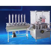Condom Automatic Vertical Cartoning Machinery With PLC Control