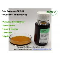 Best Liquid Acid Protease AP -500 For Aclohol Brewing Enzymes Activity 50000 U / Ml wholesale