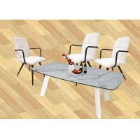 China Horsebelly Artistic Coffee Tables Living Room Use HPL Laminated Tempered Glass on sale