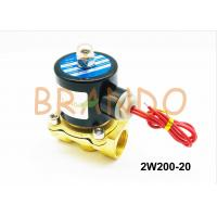 Buy cheap Direct Drive Type 2W Series Water Solenoid Valve 2W200-20 made of Brass from wholesalers
