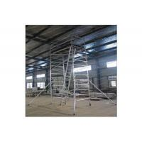 Best Painting Plastering Multi Purpose Aluminium Mobile Scaffold For Inspecting Roof wholesale