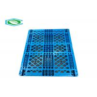 Best Single Faced High Density HDPE Rackable And Stackable Heavy Duty Plastic Pallets wholesale