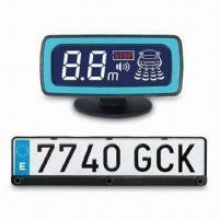 China Frame Parking Sensor with STN LCD Display, Suitable for European/Russian Number Plates on sale
