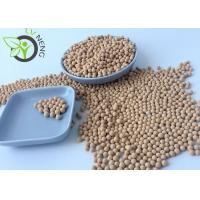 China Beige Spheric 4a Molecular Sieve Desiccant For Drying Natural Gas Chemical on sale