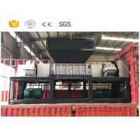 China Copper Powder Scrap Metal Shredder Machine With Low Rotation Rate 5-8cm Size on sale