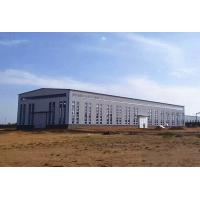 China Prefabricated Structural Steel Warehouse Modern Quick Build New Designed on sale