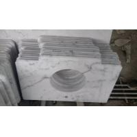 China Guangxi White Marble Vanity Top,China Carrara White Marble Bathroom Vanity Top,White Marble Kitchen Top on sale