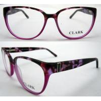 Best Red Round Fashion Eyeglasses Frames With Demo Lens Protect Eyes wholesale