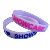 China Cheap custom silicone wrist bands,engrave printing and embossed wristband on sale
