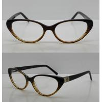 Best Promotional Retro Oval Acetate Optical Frames For Lady 52-16-138mm wholesale